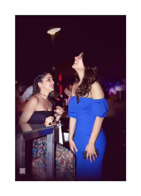 Lavanya and Raashi Khanna Hot In Sundeep Birthday Party