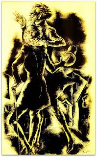 O Satã Conduz Macário pelo Braço, João Fahrion, 1940