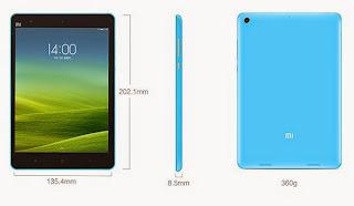 Spesifikasi Xiaomi Mi Pad 7.9