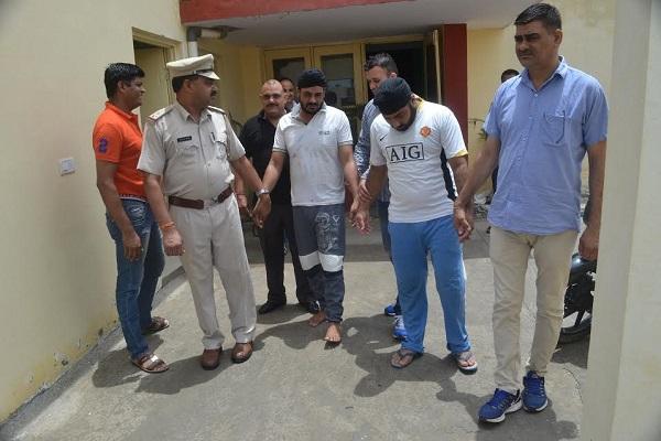 राज्यस्तरीय ट्रास्फार्मर चोरी करने वाले गिरोह पुलिस की गिरफत में