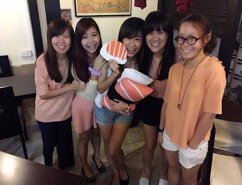 Salmon Sushi Theme Party | Happy 23rd Seow Wen! ♥