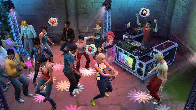 sims 4 get together