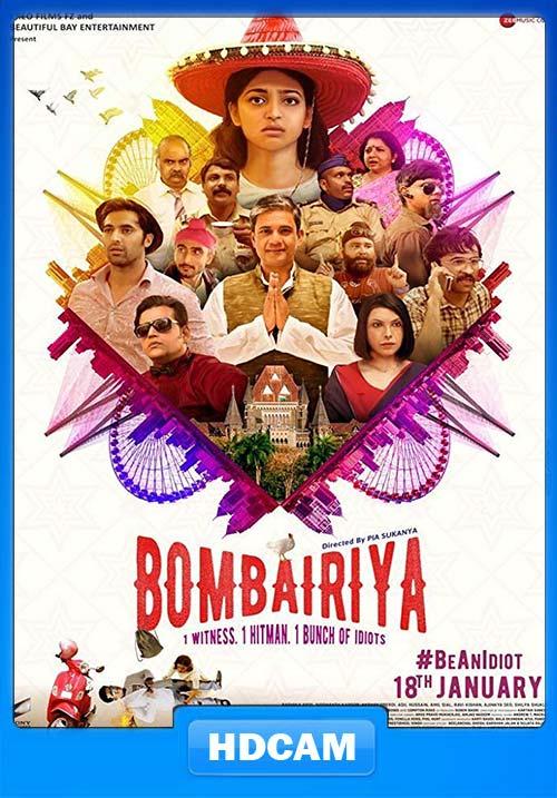 Bombairiya 2019 Hindi 720p Pre DVDrip x264 | 480p 300MB | 100MB HEVC