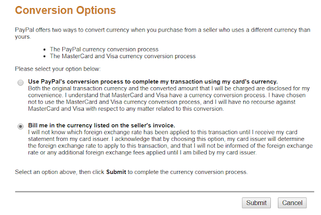 Ask Paypal to use Mastercard/VISA's currency conversion process, not theirs. This is what your bank wants