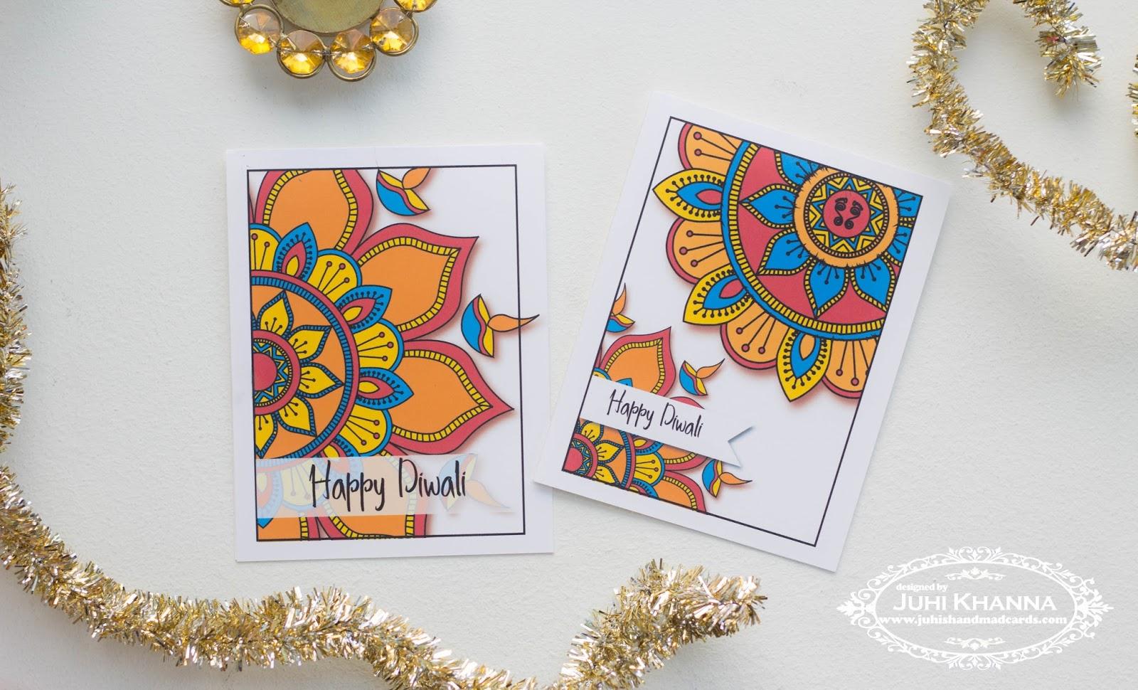 Juhis Handmade Cards October 2016
