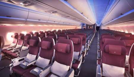 Seat Qatar Airways