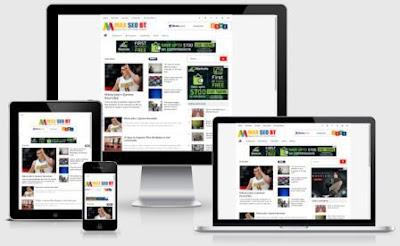 New MAX SEO BT Template Blogspot Terbaik CTR Tinggi untuk AdSense