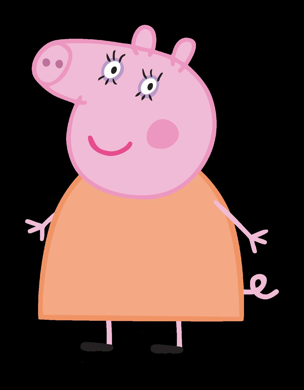Cartoon Characters: Peppa Pig (PNG HQ)