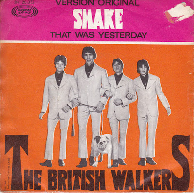 The British Walkers – Shake / That Was Yesterday (1967)