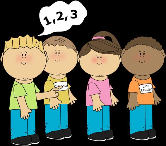 Niños contando 1, 2, 3