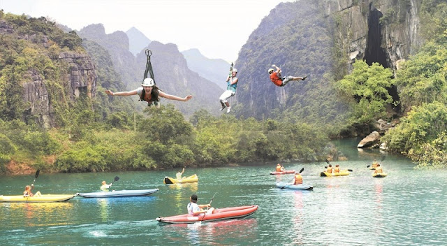 Adventure tourism in Lam Dong, Vietnam 2