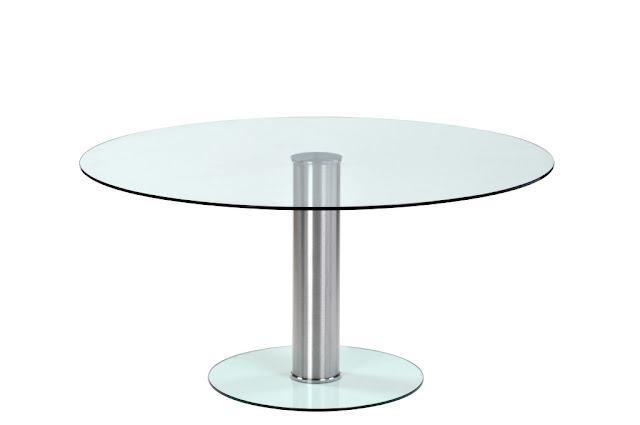 circular glass table design ideas