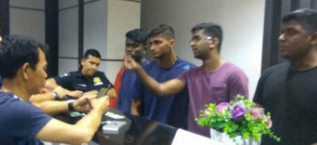 Diduga Militer, Enam Warga Negara Singapura Diamankan POM AL