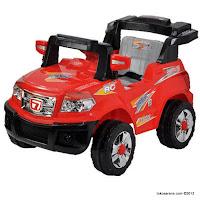 4 Mobil Mainan Aki Elite 006Q Jeep