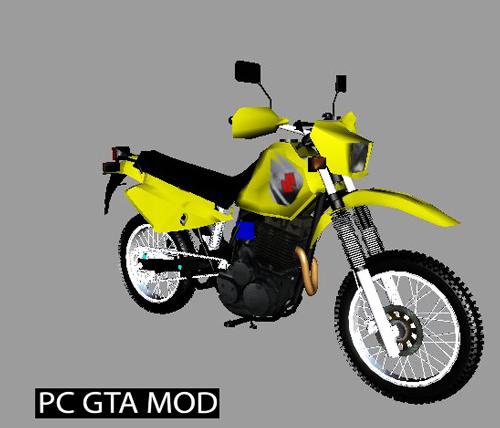 Free Download Suzuki DR 650 Mod for GTA San Andreas.