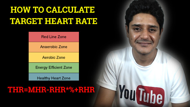 target heart rate zones and how to calculate taget heart rate and maximum heart rate
