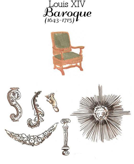 Identi chic otras versiones del fucsia chaise longue - Silla luis xiv ...
