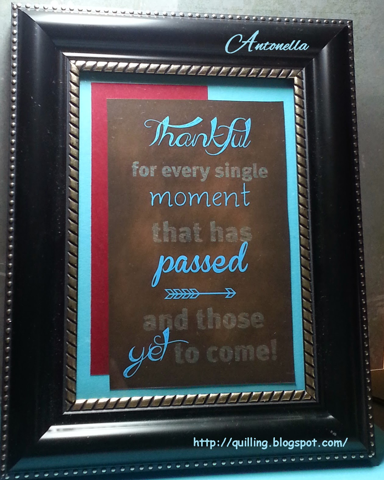 Antonella Be Thankful Thanksgiving Fall framed printable