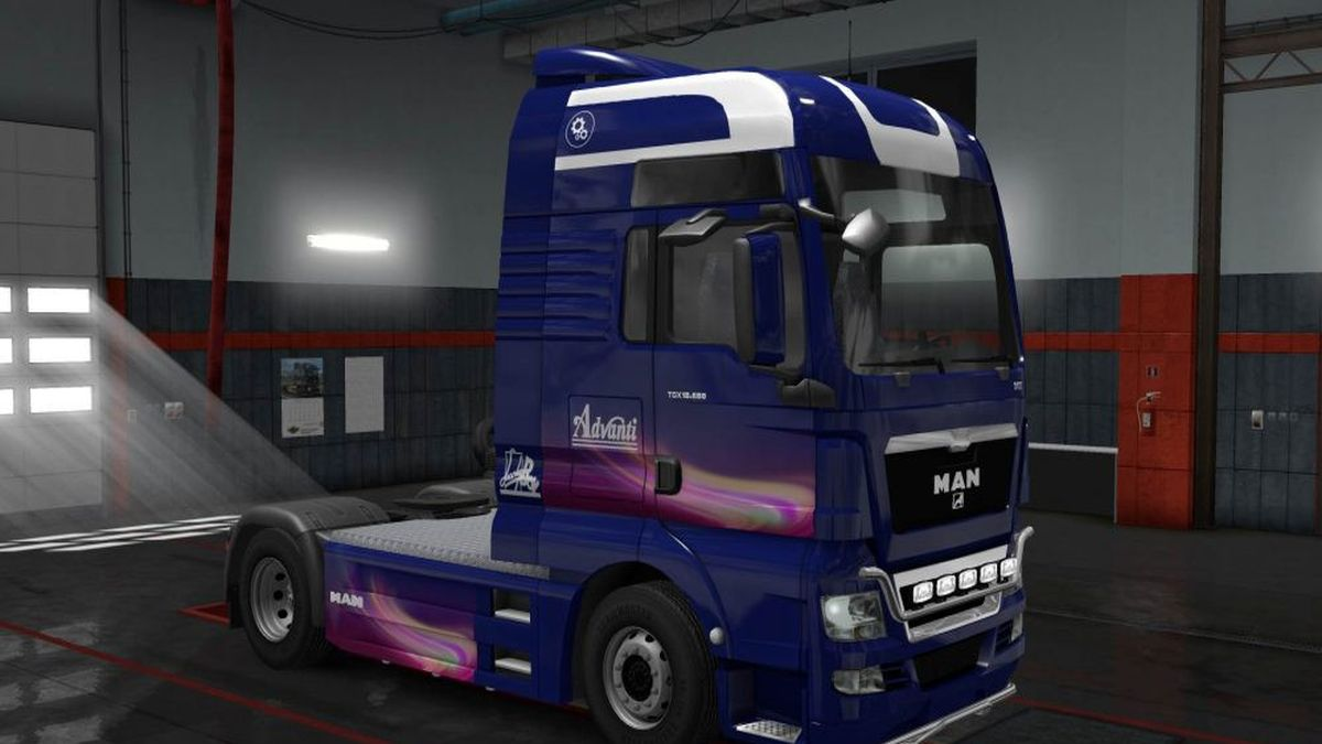 Advanti Skin for MAN TGX