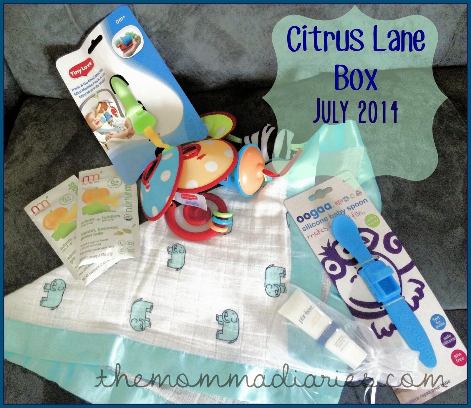 Citrus lane july 2014