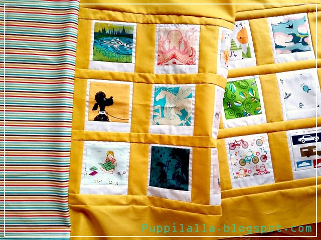 Patchwork, Polaroid Photo Pillowcase, Puppilalla, Cushion Cover,
