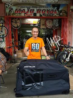 Tas Sepeda Nautilus for Mtb atau Roadbike Semi Hardcase
