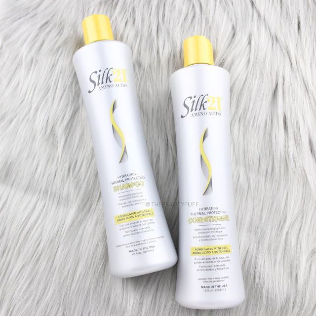 Silk 21 Shampoo and Conditioner  |  The Beauty Puff