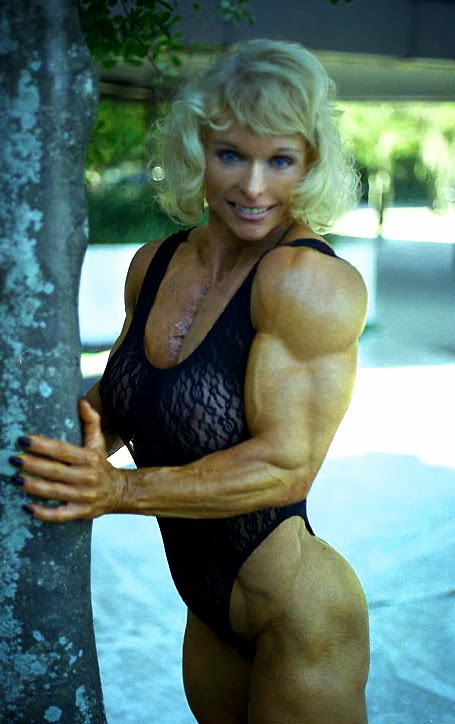 80's Female Muscle: Judy Miller