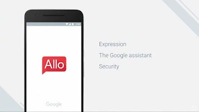 Google Kenalkan, Allo Aplikasi Chating Pintar Di Google I/O