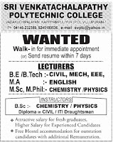 Jobs4Lecturers: 2011-11-06