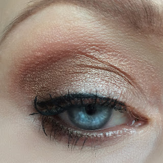 Augen Make up mit der Rival de Loop Young XXL Bronze Eyeshadow Palette