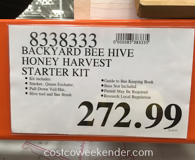 Deal for the SummerHawk Ranch Victorian Teak Backyard Beehive with Twin Honey Super at Costco
