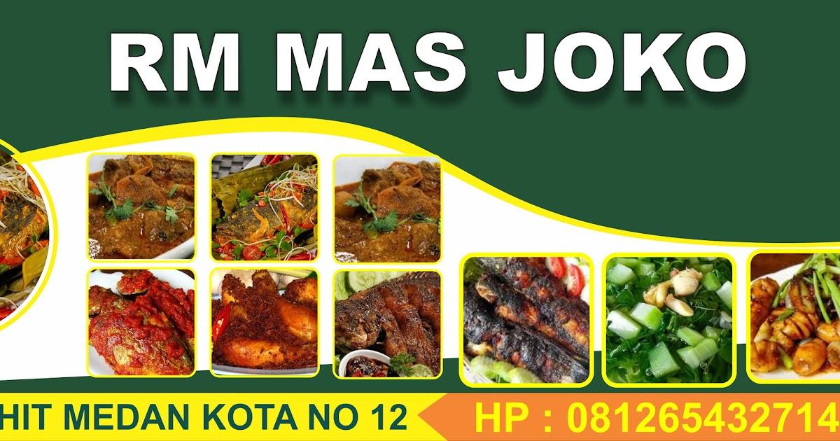 Contoh Desain Banner Makanan Cdr - kumpulan contoh spanduk