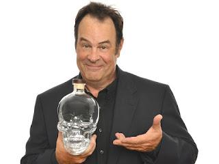 Dan Aykroyd skull vodka Ghostbusters