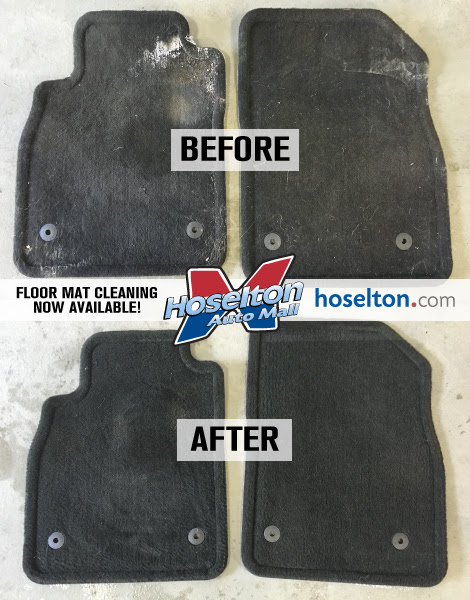 The Ultimate Floor Mat Cleaning!