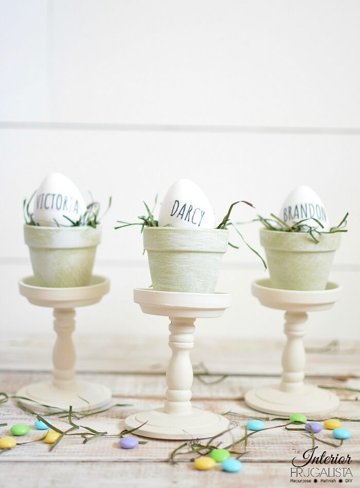 Easter French Country Place Holders