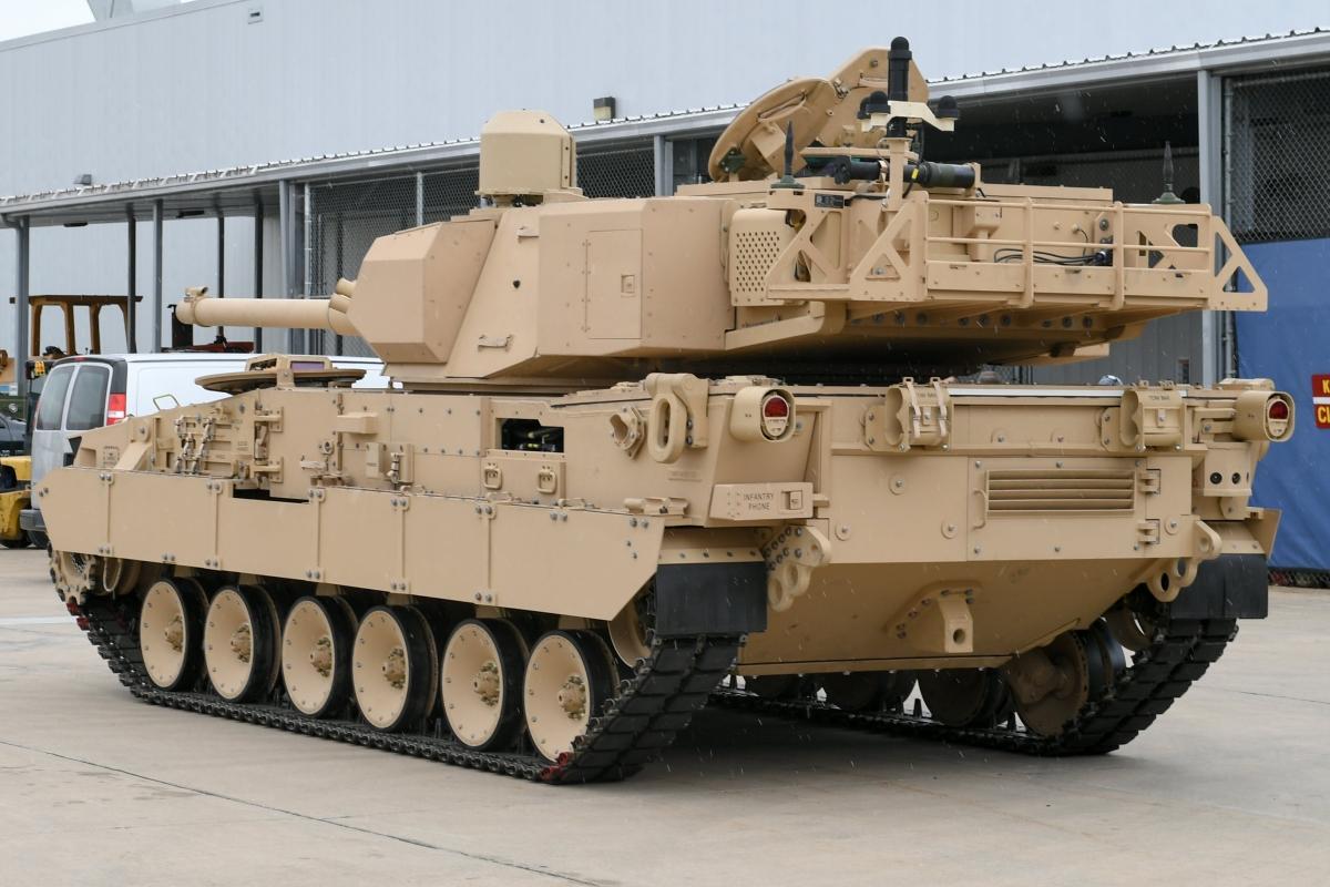 General Dynamics показала новий легкий танк армії США