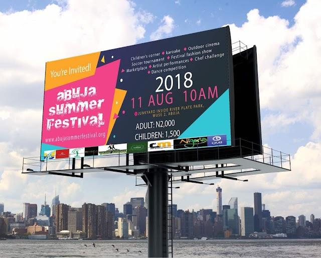 River Plate Park set to host Abuja Summer Festival on August 11