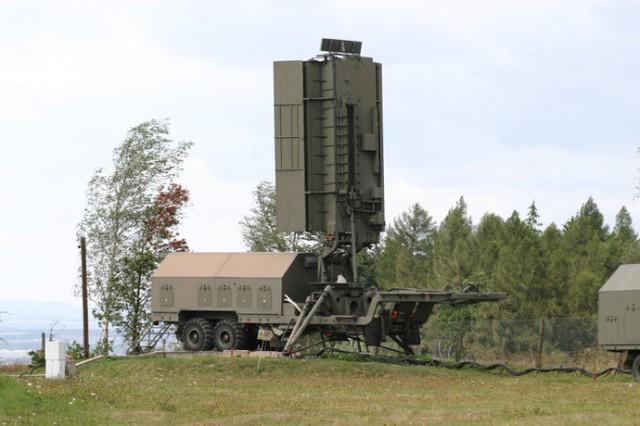 the S-300's radar system.