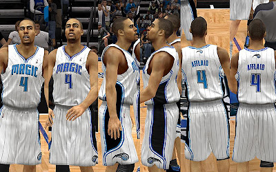 NBA 2K13 Orlando Magic Home Jersey