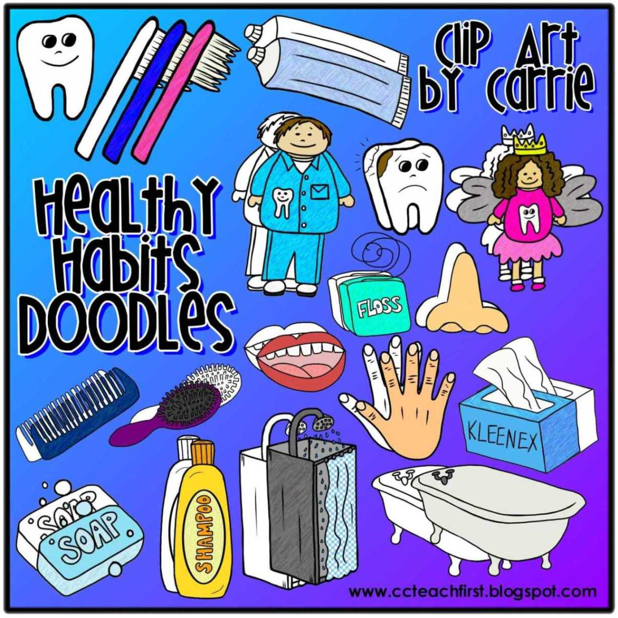Clip Art By Carrie Teaching First Clip Art Doodles