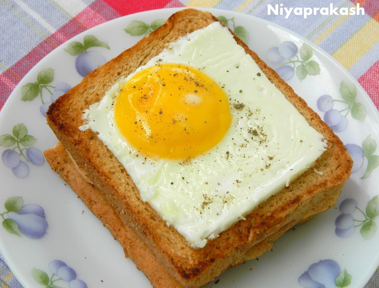 Niya's World: Photos of Homemade Dishes (Egg ring, Fried