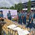 TNI-AL Musnahkan 1.835 Liter Miras