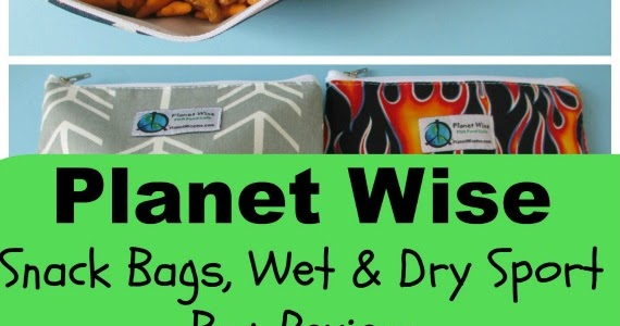 Bento School Lunches   Planet Wise Reusable Snack Bags and Wet   Dry Sport  Bag Review 4530b05149618