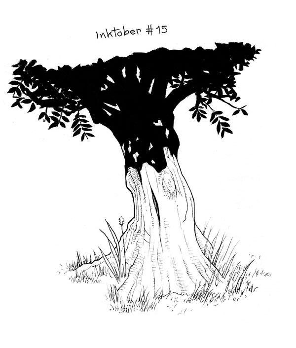 [defis] Inktober 2016 - Page 7 Ink201615arbre