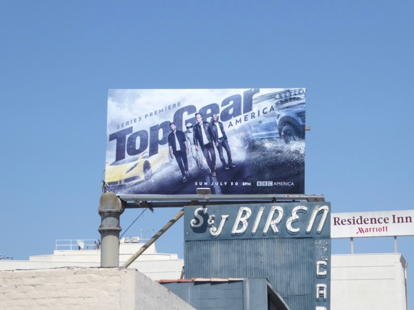 Top Gear America season 1 billboard