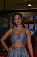 Rhea Chakraborty in a Sleeveless Deep neck Choli Dress Stunning Beauty at 64th Jio Filmfare Awards South ~  Exclusive 056.JPG