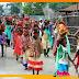 गाजे-बाजे के साथ 501महिलाओं को लेकर निकाली भव्य कलश शोभायात्रा