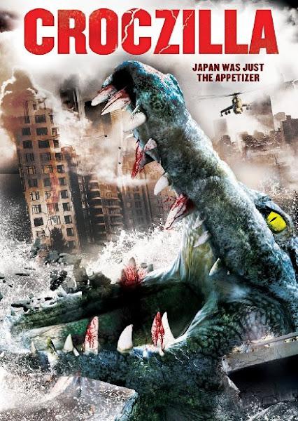 Poster Of Croczilla 2012 720p Hindi BRRip Dual Audio Full Movie Download