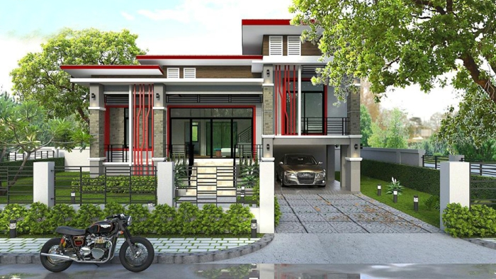 Myhouseplanshop Split Level Modern House Plan With Three Bedrooms